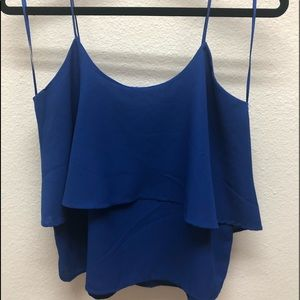 Paper Crane Royal blue top